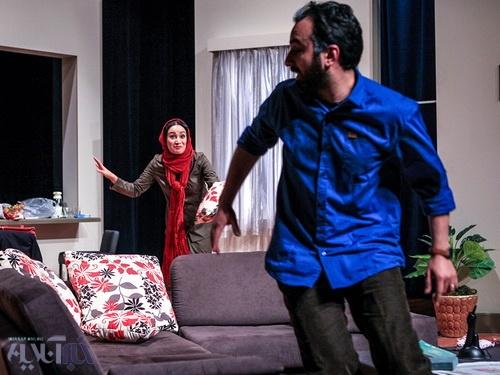 تنهایی یک زن در نیاوران / بهاره افشاری، کاوه خداشناس، شکوفه هاشمیان و افشین سلیمان پور در یک نمایش