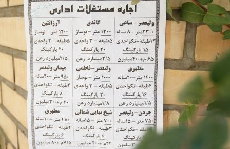 رهن و اجارههای میلیاردی در تهران