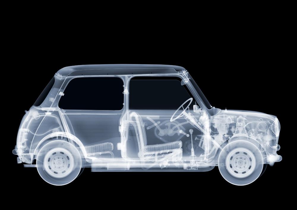 خودرو و هواپیما زیر اشعه ایکس چه شکلی هستند؟
