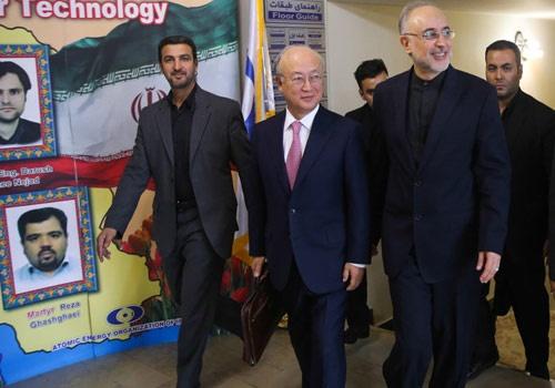 توافقنامه ای که آمانو در تهران امضا کرد و قرار است نقشه راه هسته ای باشد