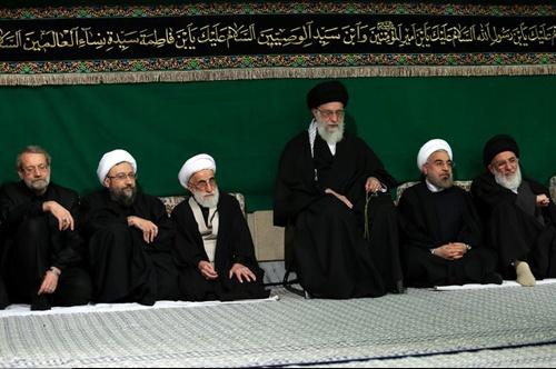 اولین شب مراسم عزاداری حضرت اباعبدالله الحسین (ع) با حضور رهبر معظم انقلاب برگزار شد