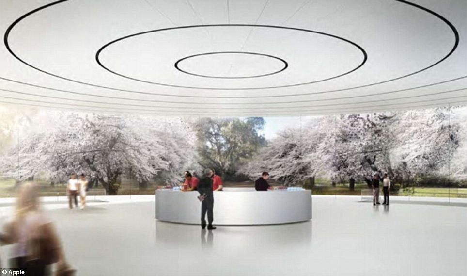 نقشه های ساخت مقر اپل تایید فنی شد/تصاویر نهایی حلقه فضایی استیو جابز را ببینید