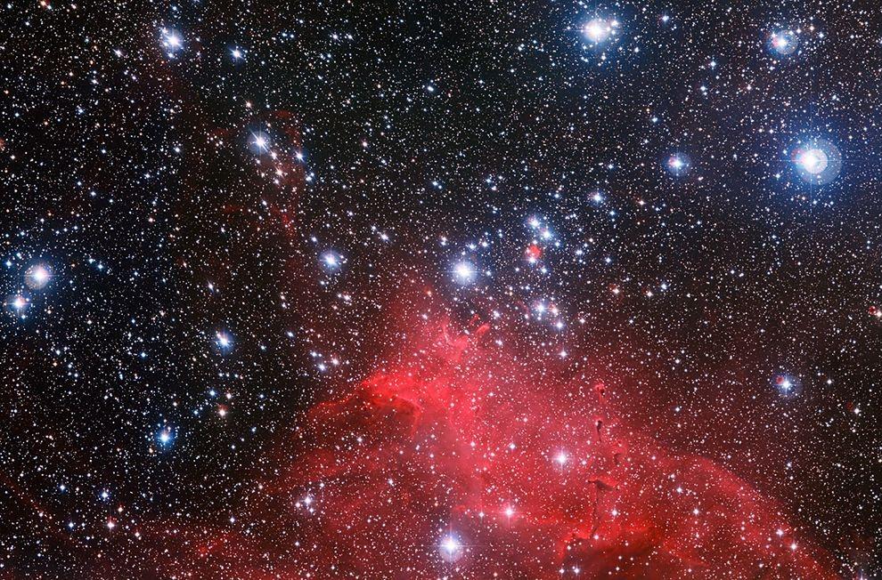 بهترین تصاویر فضایی هفته: از ستارگان باستانی راه شیری تا نگاه زحل به زمین، مریخ و ناهید
