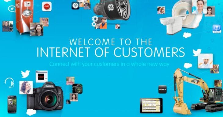 """دنیای جدید """"اینترنت مشتریان"""" با پلتفورم جدید نرم افزاری  salesforce1"""