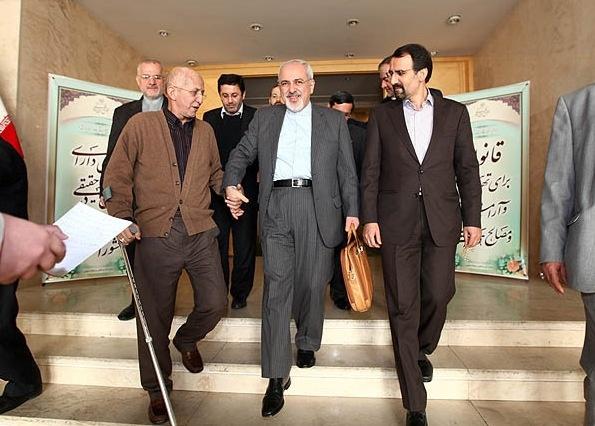 مذاکرات هسته ایران با 5 بعلاوه 1,محمدجواد ظریف,مجلس نهم