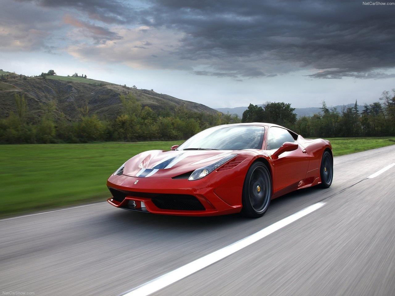458 اسپشیاله٬ دینامیک ترین خودروی تاریخ فراری