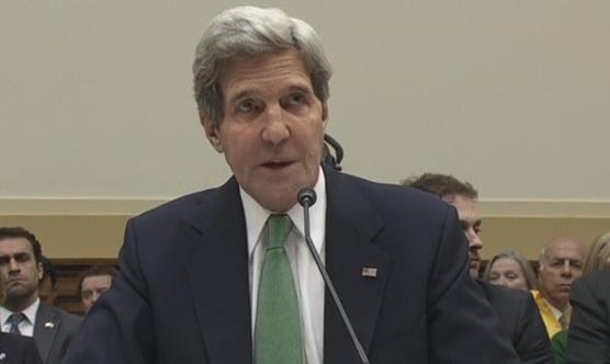 سخنرانی جان کری در کمیتۀ روابط خارجی مجلس نمایندگان/ در مورد ایران دست نگه دارید