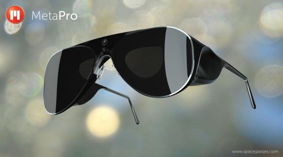 عینک متاپرو، کامپیوتری روی چشمان شما و رقیبی برای عینک گوگل