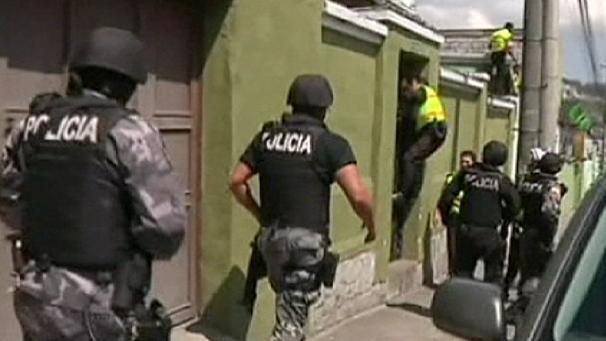 فرار موفق 55 زندانی در اکوادور به سبک هالیوود