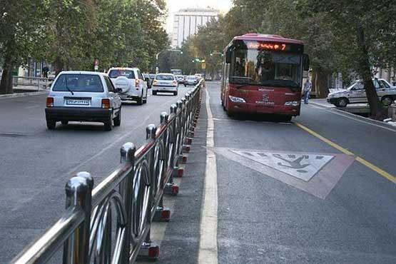 هشدار دوباره پلیس به رانندگان: وارد خط ویژه اتوبوس شوید، توقیفتان میکنیم، حتی با چراغ گردان و الایدی