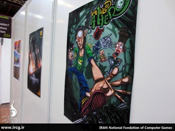 """تصاویری از حضور ایران در نمایشگاه """"گیم کانکشن فرانسه"""""""