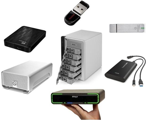 معرفی ابزارهای ذخیره سازی دیتا از فلش 32 گیگی تا دستگاه 18 ترابایتی