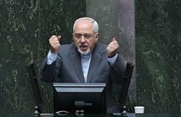 محمدجواد ظریف,مجلس نهم,حسن روحانی