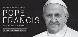 پاپ فرانسیس اول,مجله تایم