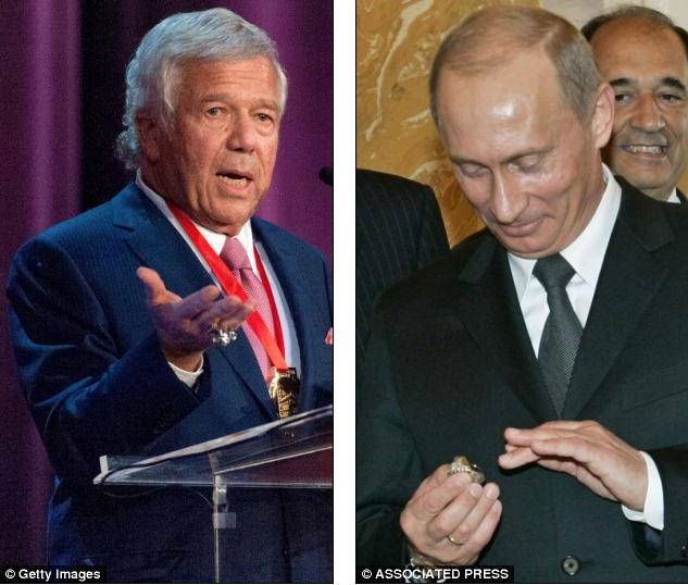 صحنه ای که می بینید، لحظه سرقت انگشتر مرد امریکایی توسط پوتین است؟