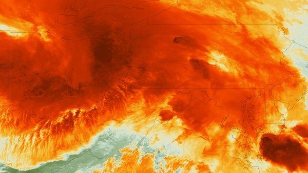 طوفانهای جوشان