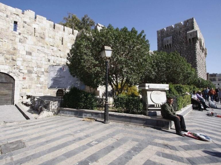 بناهای تاریخی سوریه در آتش جنگ داخلی