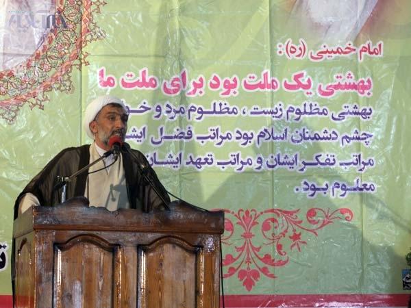 پورمحمدی در مراسم سالگرد شهید ناطق نوری: پیش از انتخابات میگفتند رئیس جمهور انتخاب شده است
