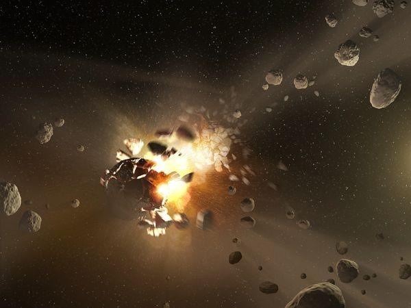 بهترین تصاویر فضایی هفته: از نسل جدید سیارکهای منظومه شمسی تا خیابانهای گردابهای فونکارمن