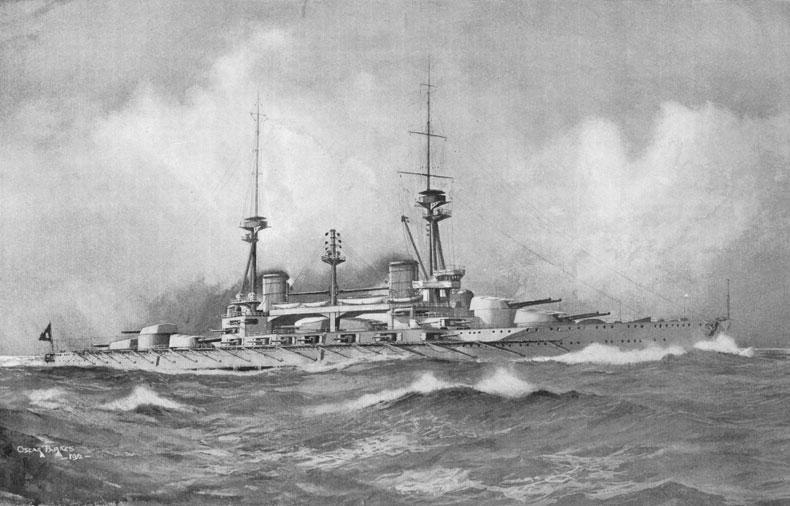 کشتیها و زیردریاییهای جنگجهانی اول