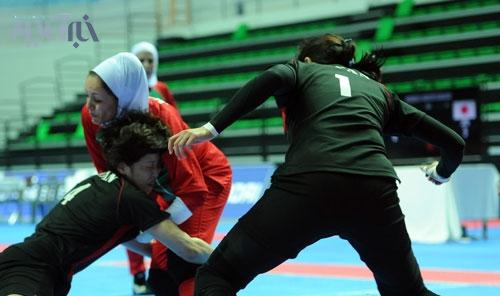 تصاویری از پیروزی تیم ملی کبدی بانوان ایران