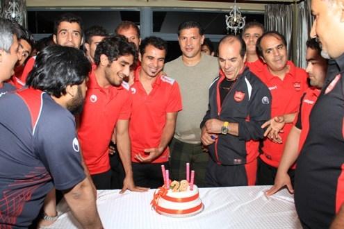 جشن تولد هادی نوروزی در اردوی رامسر