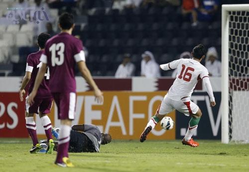 شلیک 75 میلیونی به قلب دروازه قطر!