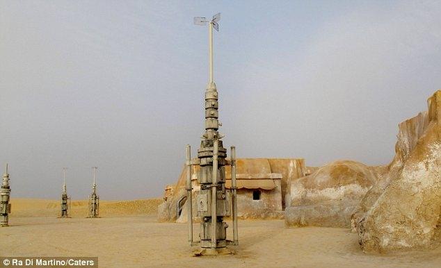 فیلم جنگ ستارگان را در اینجا، در بیایان تونس ساختند
