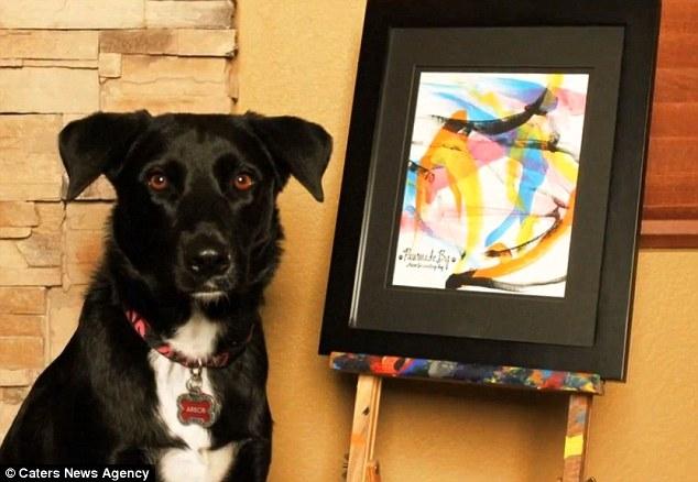 نقاشی های خارق العاده یک سگ