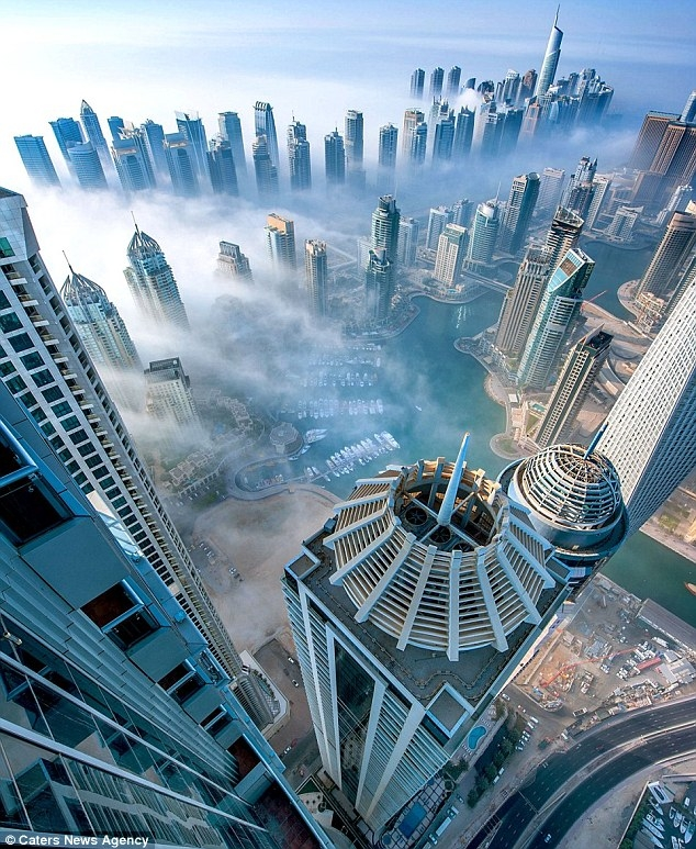 ساکنان برج پرنسس در دبی بدلیل خرابی آسانسور 97 طبقه را پیاده رفتند!
