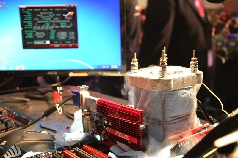 رکوردزنی سرعت 6.98 گیگاهرتزی پردازنده هاسول روی مادربورد ایسوس