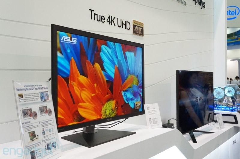 مانیتور 4K و  31.5 اینچی ایسوس در نمایشگاه Computex