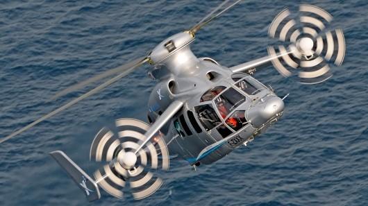 یوروکوپتر X3 رکورد سرعت بالگردها را شکست