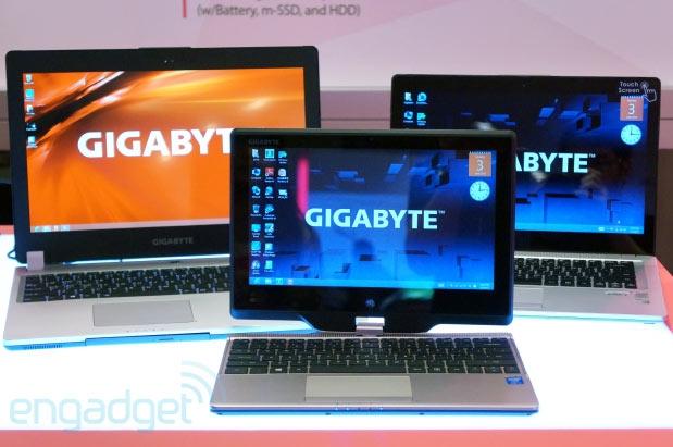 گیگابایت با اولترابوک مخصوص گیمرها در نمایشگاه Computex 2013