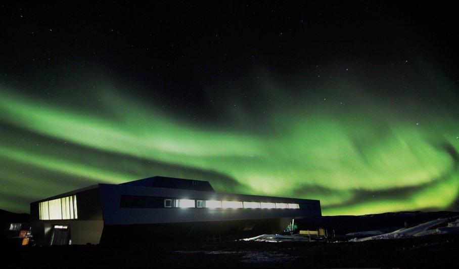 ساختمانهای شگفتانگیز قطب جنوب