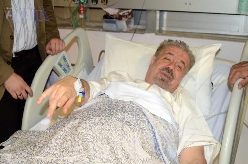 بهرام شفیع در بستر بیماری