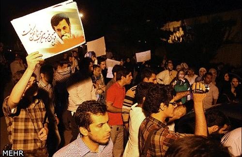 5 ساعت با هواداران احمدی نژاد در VIP فرودگاه مهرآباد