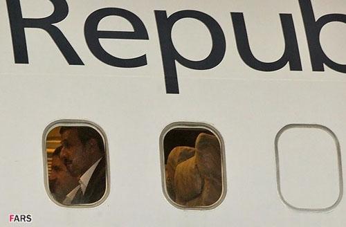 احمدی نژاد در جمع 80نفره هوادارانش در فرودگاه مهرآباد حاضر نشد