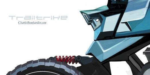 موتورسیکلتهای آینده سه چرخ دارند!