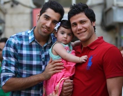 مهدوی،دخترش گلبو و محمد موسوی