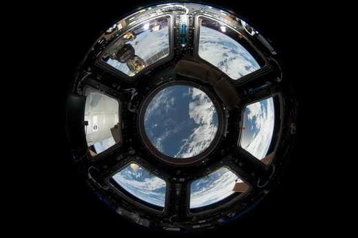 زمین از نگاه برج دیدهبانی ایستگاه فضایی