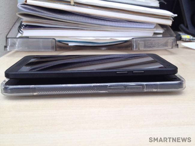 تصویر لو رفته گوشی Black HTC One mini