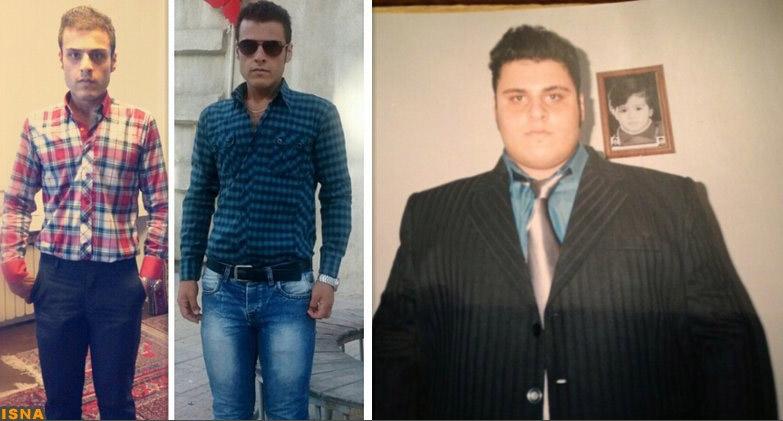 کاهش وزن 117 کیلوگرمی جوان سنندجی