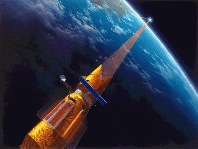 با این لیزر فضایی 70,000,000,000 واتی سیارکها را پودر کنید!