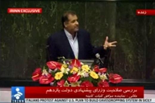 دفاع رئیس فراکسیون اکثریت مجلس از روحانی در برابر اتهام دخالت اعضای دولت در فتنه