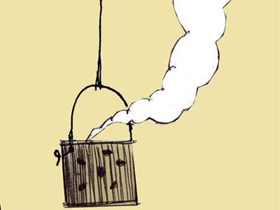 کاریکاتور/ صندوق خالی بانکها!