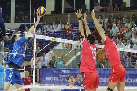 دومین پیروزی تیم ملی والیبال ایران مقابل روسیه