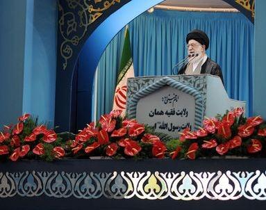 مشروح سخنان رهبر معظم انقلاب در خطبه های نماز عید فطر