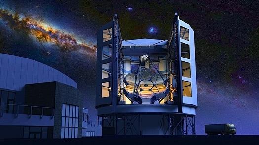 با این آینههای 140,000 کیلویی میخواهند لبه عالم را ببینند
