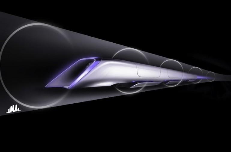 قطاری که با سرعت 1127 کیلومتربرساعت پرواز میکند